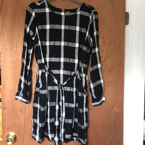 a new day Plaid dress